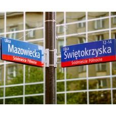 Tablica drogowa ulicowa MSI