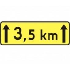Tabliczka drogowa T-2